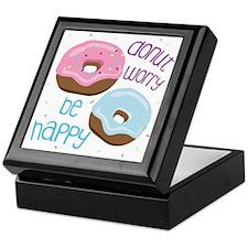 Donut Worry Keepsake Box