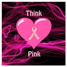 Breast Cancer Awareness Ribbon Poster