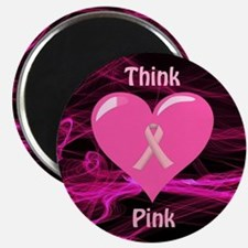 Breast Cancer Awareness Ribbon Magnet