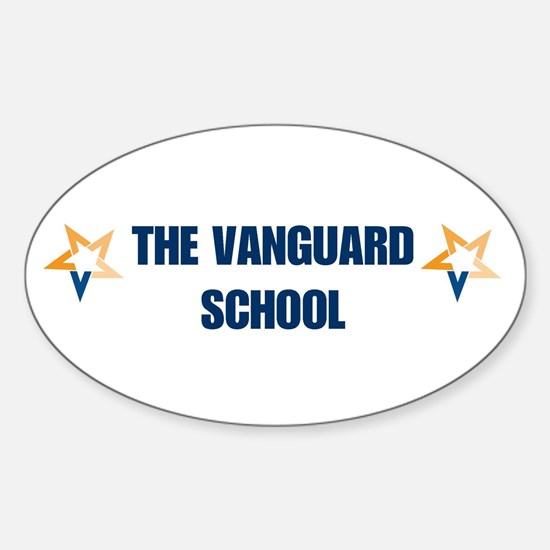 Vanguard Oval Decal