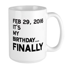 Feb 29, 2016 FINALLY Mugs