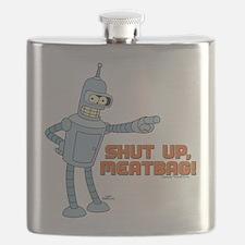 Bender Shut Up Meatbag Flask