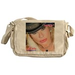 Air Force Amy - Burning Man 2015 Messenger Bag