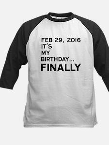Feb 29, 2016 FINALLY Baseball Jersey