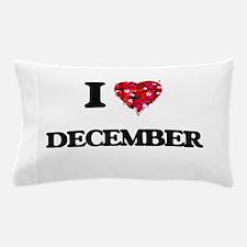 I love December Pillow Case
