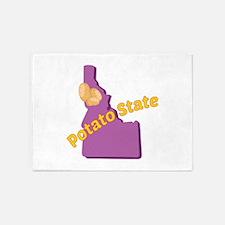 Potato State 5'x7'Area Rug
