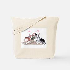 Corgi Valentine  Tote Bag