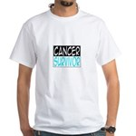 'Cancer Survivor' White T-Shirt