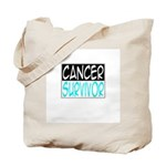'Cancer Survivor' Tote Bag