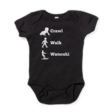 Crawl Walk Waterski Baby Bodysuit