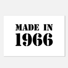 Made in 1966 Postcards (Package of 8)
