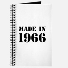 Made in 1966 Journal