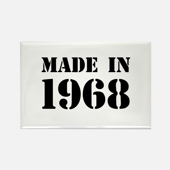 Made in 1968 Magnets