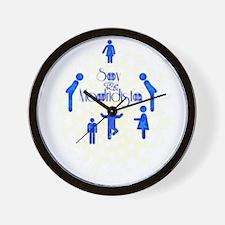 RightOn Madridista Wall Clock