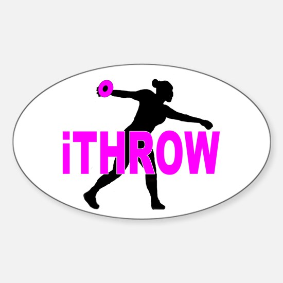 Pink Discus Decal