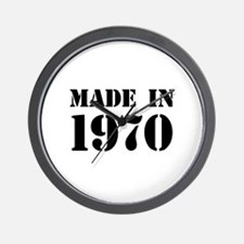 Made in 1970 Wall Clock