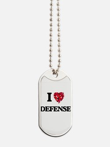 I love Defense Dog Tags