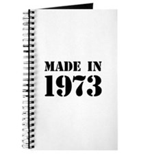 Made in 1973 Journal