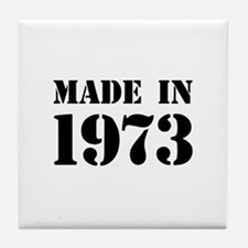 Made in 1973 Tile Coaster