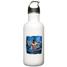 Leather pride steamy Water Bottle