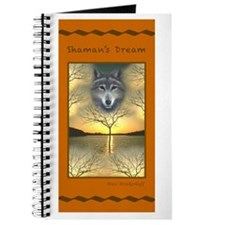 Shaman's Dream Wolf ~ Journal