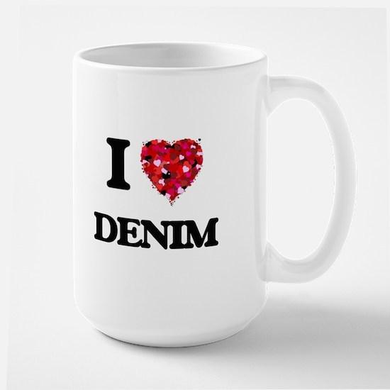 I love Denim Mugs
