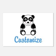 Custom Panda Postcards (Package of 8)