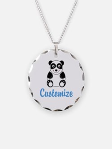 Custom Panda Necklace