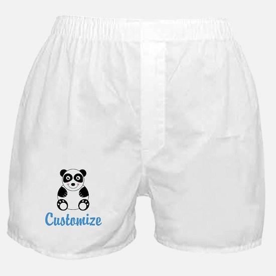 Custom Panda Boxer Shorts