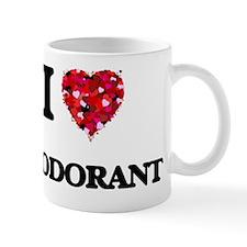 I love Deodorant Small Mug