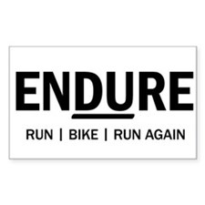 ENDURE (Duathlon) Bumper Stickers