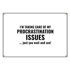 Procrastination Issues Banner