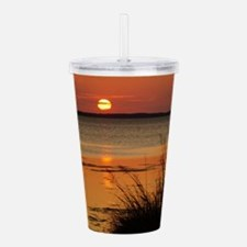 OBX Sunset Acrylic Double-wall Tumbler