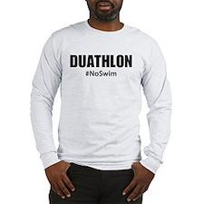 Duathlon No Swim Long Sleeve T-Shirt