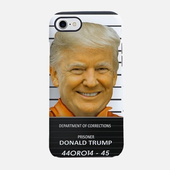 Trump Mugshot Photo Moron 45 iPhone 8/7 Tough Case