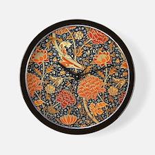 Vintage floral design, Cray Wall Clock