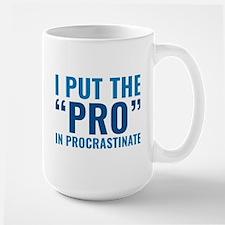 Pro In Procrastinate Mug