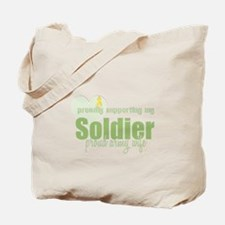 Proud Army Wife Tote Bag
