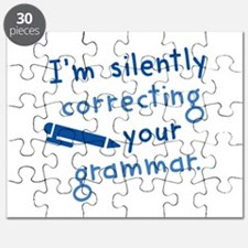I'm Silently Correcting Your Grammar Puzzle