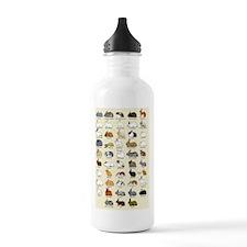 Cute French lop rabbit Water Bottle