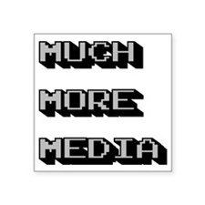 "Unique Media Square Sticker 3"" x 3"""