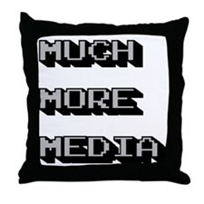 Unique Media Throw Pillow