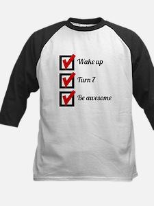 Awesome 7th Birthday Checklist Baseball Jersey
