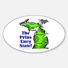 MI-Envy! Oval Decal
