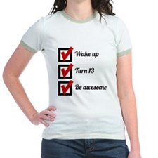 Awesome 13th Birthday Checklist T-Shirt