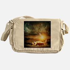Mermaid Beached Messenger Bag