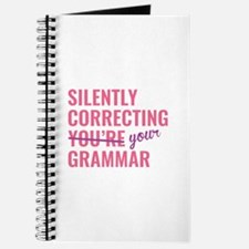 Silently Correcting You're Grammar Journal