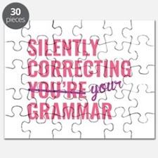 Silently Correcting You're Grammar Puzzle