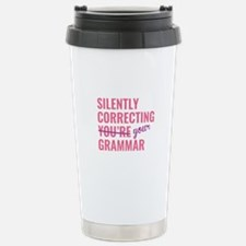 Silently Correcting You're Grammar Ceramic Travel