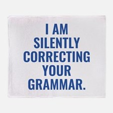 I Am Silently Correcting Your Grammar Stadium Blan